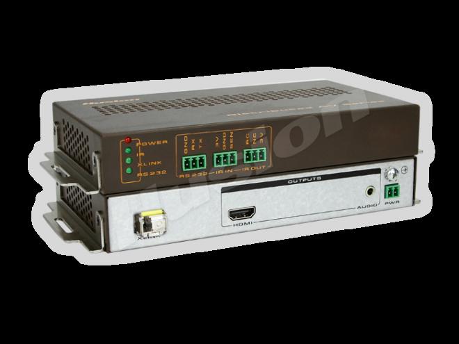 Husion HS-UHD-F/10KRx 4K UHD 光纖解碼器