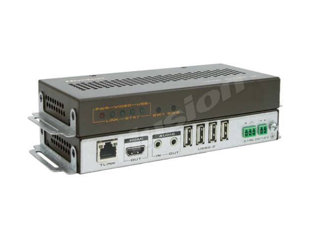 Husion HS-UHD-C/120Rx-A-K2 UHD KVMA 網路接收器