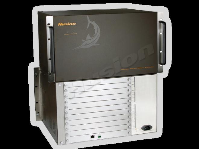 HDC 2000 4 埠插卡式混合訊號矩陣主機(20 X 20)