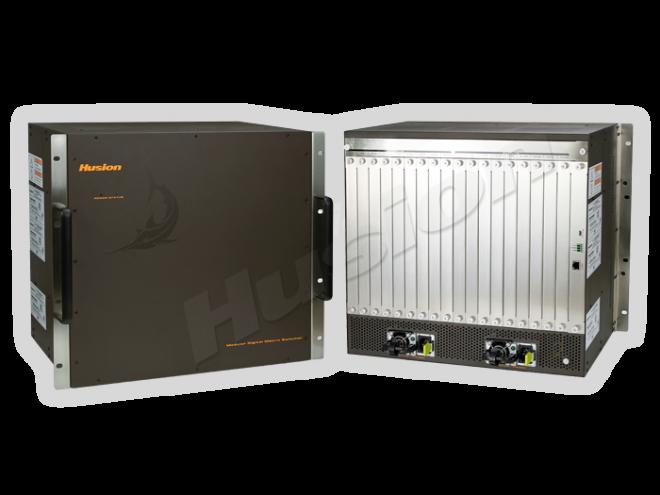 Husion HDC 3600 4 埠插卡式混合訊號矩陣主機(36 X 36)