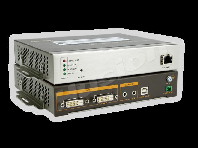 Husion HS-UHD-C/TX-A-K UHD 網路 KVM 編碼器