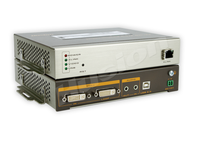 Husion HS-MULF-C/TX-A-K 多格式 網路 KVM 編碼器