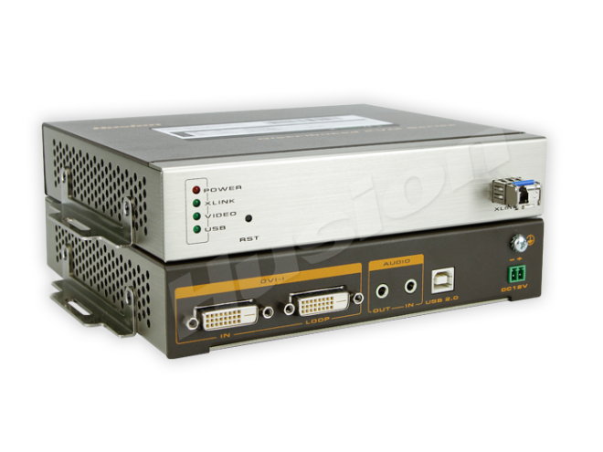 Husion HS-UHD-F/TX-A-K UHD 光纖 KVM 編碼器