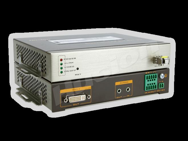 Husion HS-UHD-F/RX-ASI UHD 光纖解碼器