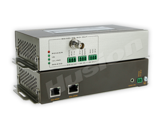 Husion HS-SDI-D-C/RX-ASI SDI 雙鏈路 網路解碼器