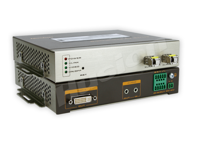 Husion HS-MULF-D-F/RX-ASI 多格式雙鏈路 光纖解碼器