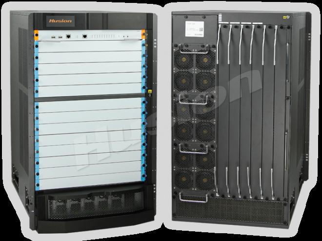 Husion HDC IP10G-576M 576 埠模組化 分佈式影音傳輸系統主機